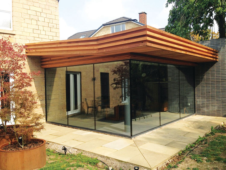 Contemporary Framed Or Frameless Glass Extensions Glass