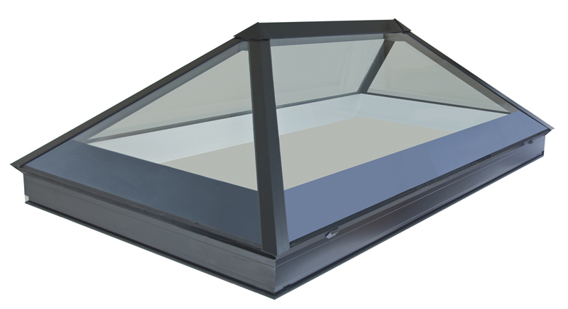 Bespoke Contemporary Frameless Structurally Glazed Rooflights