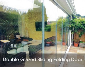 Double Glazed Sliding Folding Door title