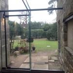 Chelwood Gate framelessl glazed link