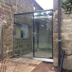 Single Frameless External Door Chelwood Gate