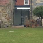 Frameless Glazed Link Chelwood Gate